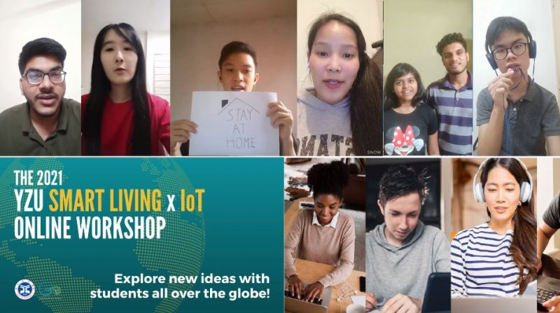 The 2021 YZU Smart Living x IoT Online Workshop