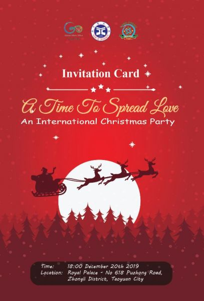 International Christmas Party - A Time to Spread Love